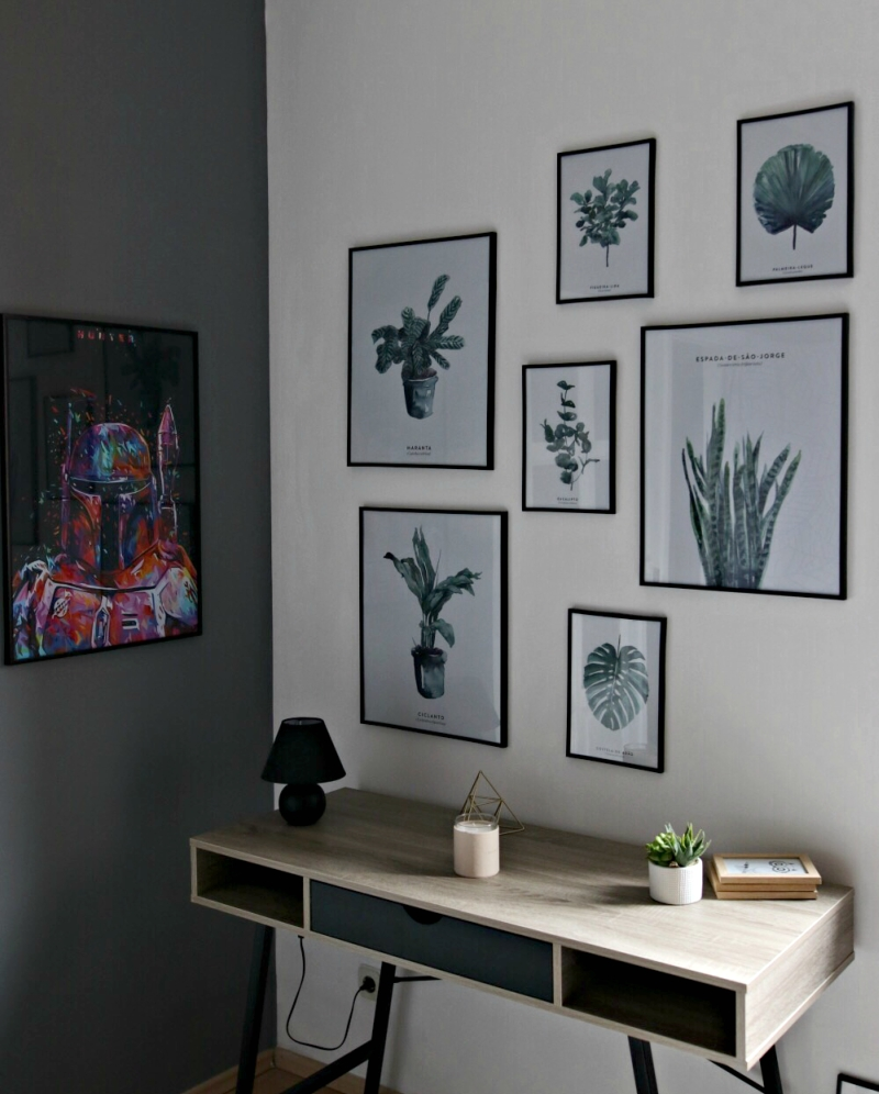 Ideje za gallery wall vrijedan Pinteresta