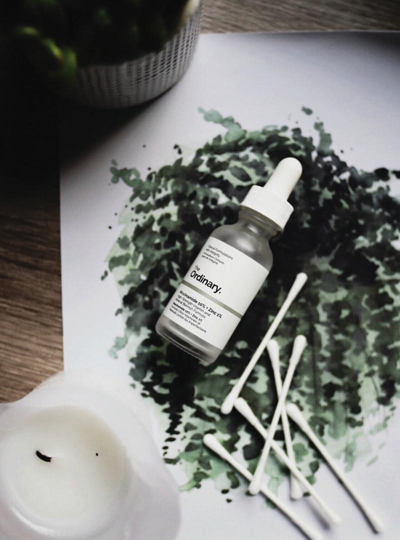 Nikotinamid [ niacinamid, vitamin B3 ] +cink