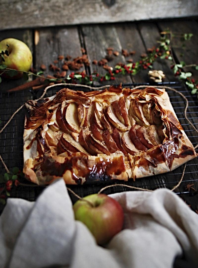 Galeta od jabuka sa chai mješavinom začina