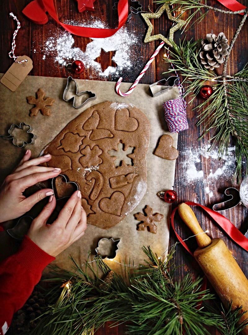 Novogodišnji gingerbread kolačići