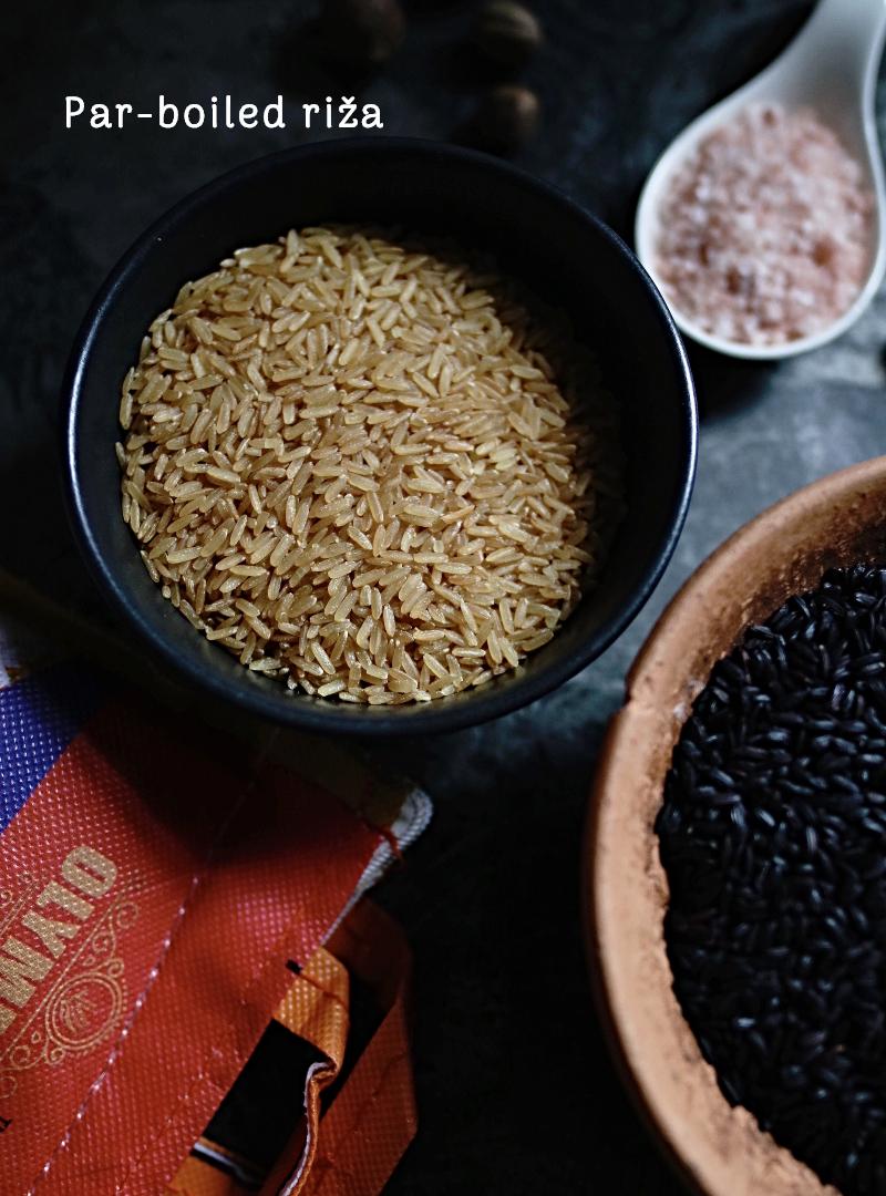 parboiled riža