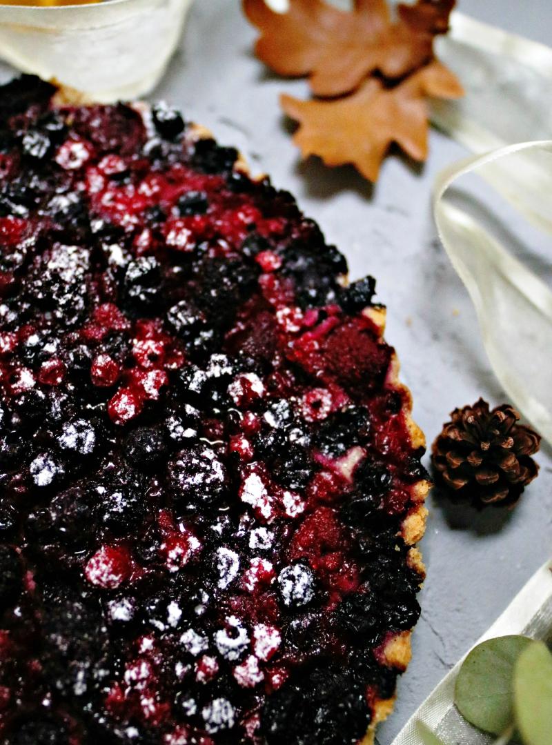 Ovaj tart od šumskog voća je zimska čarolija