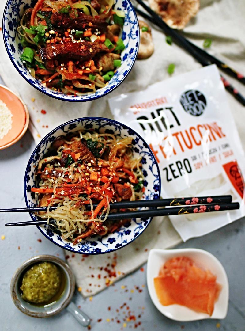 Shirataki konjak tjestenina sa nula kalorija + recept za korejski Japchae